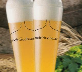 selbst gebrauter heller Champagnerweizen-Doppelbock // braukurs, brauvorführung