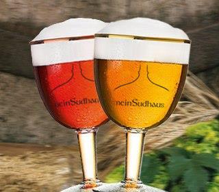 selbst gebrautes abtei-bier // braukurs, brauvorführung